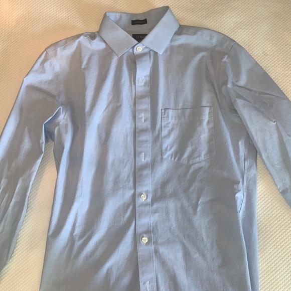 J.CREW flex wrinkle free dress shirt